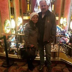 Candie attended Christmas Spectacular Starring the Radio City Rockettes on Nov 11th 2019 via VetTix