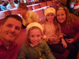 Chad attended Christmas Spectacular Starring the Radio City Rockettes on Nov 11th 2019 via VetTix