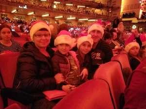 Juozas attended Christmas Spectacular Starring the Radio City Rockettes on Nov 11th 2019 via VetTix