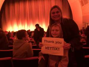 Tricia attended Christmas Spectacular Starring the Radio City Rockettes on Nov 11th 2019 via VetTix