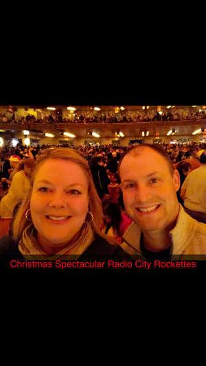 James attended Christmas Spectacular Starring the Radio City Rockettes on Nov 11th 2019 via VetTix