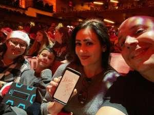 Michael attended Christmas Spectacular Starring the Radio City Rockettes on Nov 11th 2019 via VetTix