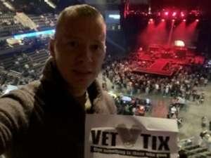 Erik attended Brantley Gilbert - Fire't Up 2020 Tour on Jan 31st 2020 via VetTix