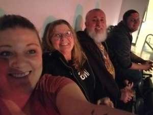 Christina attended Brantley Gilbert - Fire't Up 2020 Tour on Jan 31st 2020 via VetTix