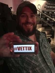 Nick attended Brantley Gilbert - Fire't Up 2020 Tour on Jan 31st 2020 via VetTix