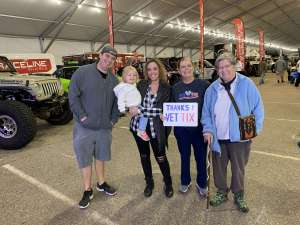 Lynne attended International Off-road & Utv Expo - *any One Day of the Expo - *see Notes on Dec 6th 2019 via VetTix