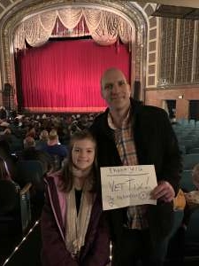 Jonathan attended American Repertory Ballet Performs the Nutcracker - Matinee on Dec 7th 2019 via VetTix