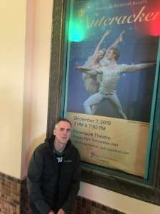 Robert  attended American Repertory Ballet Performs the Nutcracker - Matinee on Dec 7th 2019 via VetTix