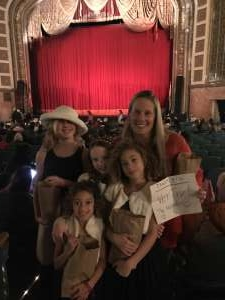 Allison attended American Repertory Ballet Performs the Nutcracker - Matinee on Dec 7th 2019 via VetTix