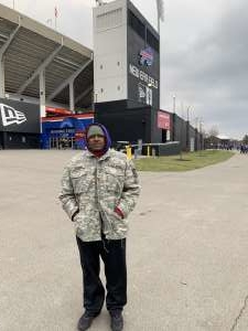 Antonio attended Buffalo Bills vs. Denver Broncos - NFL on Nov 24th 2019 via VetTix