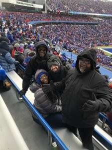 Oscar attended Buffalo Bills vs. Denver Broncos - NFL on Nov 24th 2019 via VetTix