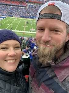 Laura attended Buffalo Bills vs. Denver Broncos - NFL on Nov 24th 2019 via VetTix
