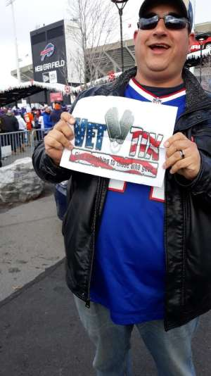 Roman attended Buffalo Bills vs. Denver Broncos - NFL on Nov 24th 2019 via VetTix