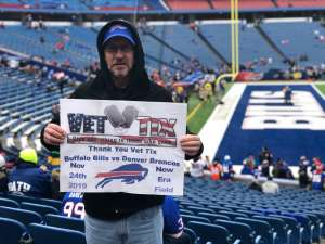 Gary attended Buffalo Bills vs. Denver Broncos - NFL on Nov 24th 2019 via VetTix