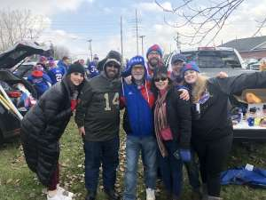 David attended Buffalo Bills vs. Denver Broncos - NFL on Nov 24th 2019 via VetTix