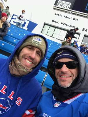 Brent attended Buffalo Bills vs. Denver Broncos - NFL on Nov 24th 2019 via VetTix