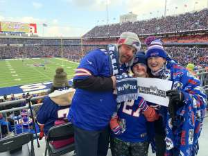 Chip attended Buffalo Bills vs. Denver Broncos - NFL on Nov 24th 2019 via VetTix