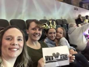 Amie attended Disney on Ice Presents Celebrate Memories on Jan 2nd 2020 via VetTix