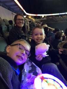 Tyler attended Disney on Ice Presents Celebrate Memories on Jan 2nd 2020 via VetTix