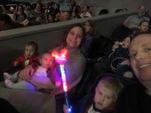 Rachael attended Disney on Ice Presents Celebrate Memories on Jan 2nd 2020 via VetTix
