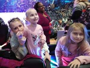 Shawn attended Disney on Ice Presents Celebrate Memories on Jan 2nd 2020 via VetTix