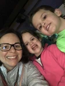 Melissa attended Disney on Ice Presents Celebrate Memories on Jan 2nd 2020 via VetTix