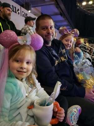 Eric attended Disney on Ice Presents Celebrate Memories on Jan 2nd 2020 via VetTix