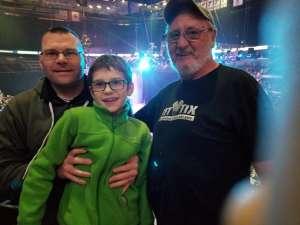 Lawrence attended Disney on Ice Presents Celebrate Memories on Jan 2nd 2020 via VetTix