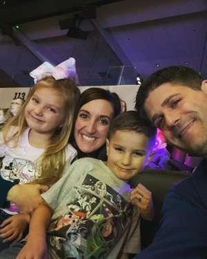 Amber attended Disney on Ice Presents Celebrate Memories on Jan 2nd 2020 via VetTix