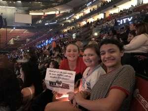 Barbara attended Jonas Brothers: Happiness Begins Tour on Nov 15th 2019 via VetTix