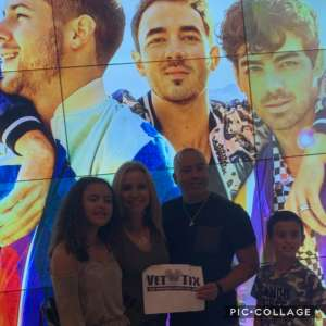 Abiud attended Jonas Brothers: Happiness Begins Tour on Nov 15th 2019 via VetTix