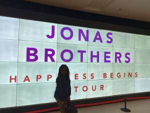 Tracy attended Jonas Brothers: Happiness Begins Tour on Nov 15th 2019 via VetTix