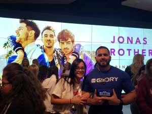 Ricardo attended Jonas Brothers: Happiness Begins Tour on Nov 15th 2019 via VetTix
