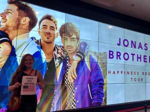 Chad attended Jonas Brothers: Happiness Begins Tour on Nov 15th 2019 via VetTix