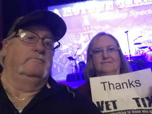 keith attended A Motown Christmas on Dec 6th 2019 via VetTix