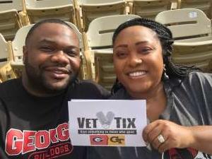 Geremy attended Georgia Tech Yellow Jackets vs. Georgia - NCAA Football on Nov 30th 2019 via VetTix