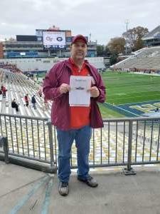 EDWARD attended Georgia Tech Yellow Jackets vs. Georgia - NCAA Football on Nov 30th 2019 via VetTix