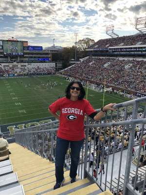 Jo attended Georgia Tech Yellow Jackets vs. Georgia - NCAA Football on Nov 30th 2019 via VetTix