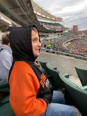 James attended Cincinnati Bengals vs. New York Jets - NFL on Dec 1st 2019 via VetTix