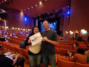 Erick attended Blue Man Group: Speechless World Tour - Sunday 6: 30 PM Performance on Nov 17th 2019 via VetTix