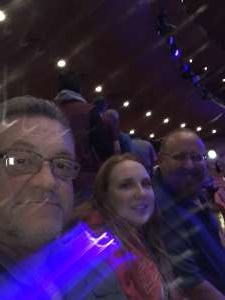 Robert attended Blue Man Group: Speechless World Tour - Sunday 6: 30 PM Performance on Nov 17th 2019 via VetTix
