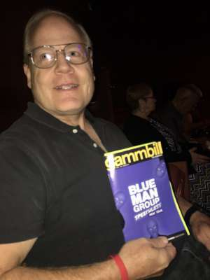 Loren attended Blue Man Group: Speechless World Tour - Sunday 6: 30 PM Performance on Nov 17th 2019 via VetTix