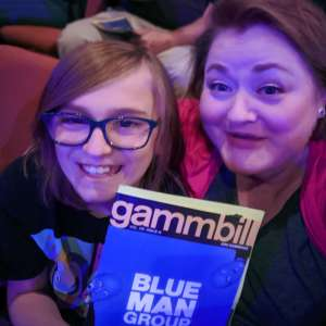 Molly attended Blue Man Group: Speechless World Tour - Sunday 6: 30 PM Performance on Nov 17th 2019 via VetTix