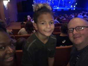 Ieaka attended Blue Man Group: Speechless World Tour - Sunday 6: 30 PM Performance on Nov 17th 2019 via VetTix