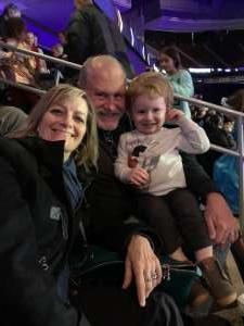 Michael attended Disney on Ice Presents Dream Big on Jan 16th 2020 via VetTix