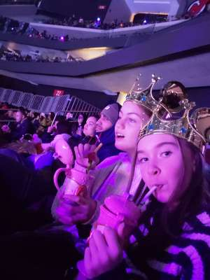 Calvin attended Disney on Ice Presents Dream Big on Jan 16th 2020 via VetTix