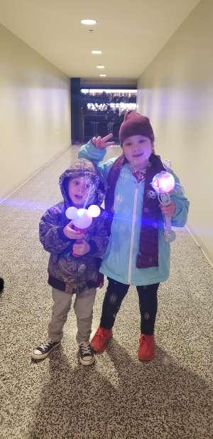 Toribia attended Disney on Ice Presents Dream Big on Jan 16th 2020 via VetTix