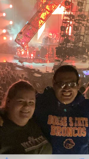 Marco attended The Chainsmokers/5 Seconds of Summer/lennon Stella: World War Joy Tour on Dec 3rd 2019 via VetTix
