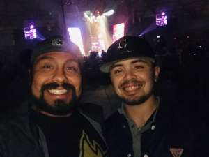 Phillip attended The Chainsmokers/5 Seconds of Summer/lennon Stella: World War Joy Tour on Dec 3rd 2019 via VetTix