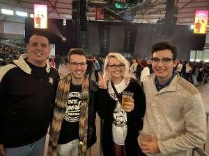 Jeremy attended The Chainsmokers/5 Seconds of Summer/lennon Stella: World War Joy Tour on Dec 3rd 2019 via VetTix